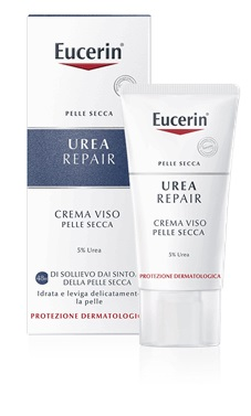 EUCERIN CREMA LEVIGANTE VISO 5% UREA 50 ML - Turbofarma.it