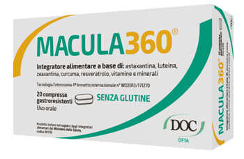 MACULA360 20 COMPRESSE RIVESTITE - Farmacia 33