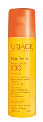 Uriage Bariésun Spray Solare Asciutto SPF 30 Protezione Corpo 200 ml