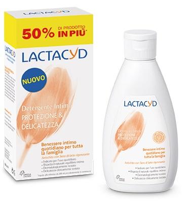 LACTACYD PROTEZIONE E DELICATEZZA DETERGENTE INTIMO 300 ML - La farmacia digitale