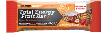 TOTAL ENERGY FRUIT BAR CRANBERRY & NUTS 35 G - Farmaci.me