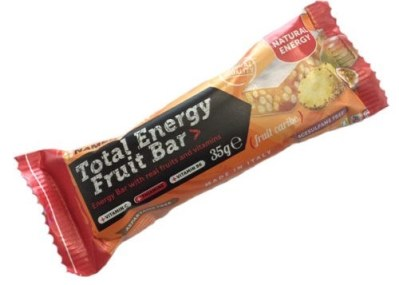 TOTAL ENERGY FRUIT BAR MANGO ANANAS & MARACUJA 35 G (scade 01/2021) -
