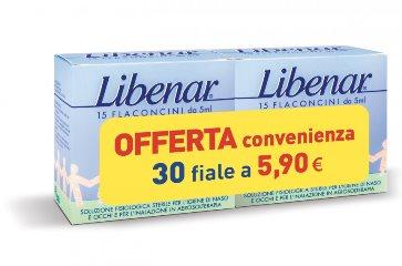 LIBENAR ISO 15 FIALE + 15 FIALE BIPACCO - Farmaunclick.it