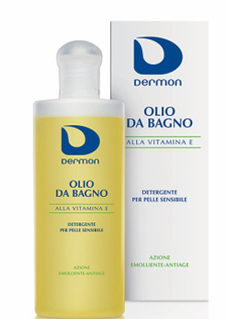 DERMON OLIO DOCCIA VITAMINA E 200 ML - Farmaunclick.it