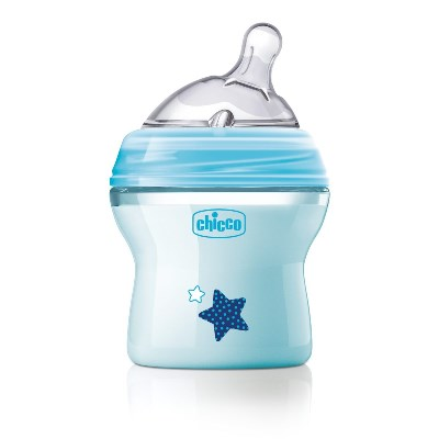 CHICCO BIBERON NATFEEL 0M+ BOY 150 ML - Farmastop