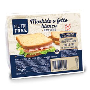 NUTRIFREE MORBIDO A FETTE BIANCO 165 G - FARMAPRIME