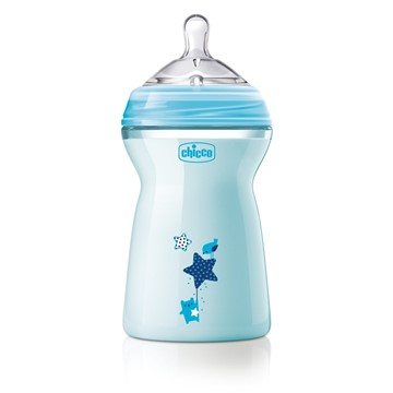 CHICCO BIBERON NATURAL FEELING 6 M+ BOY 330 ML - Farmastop