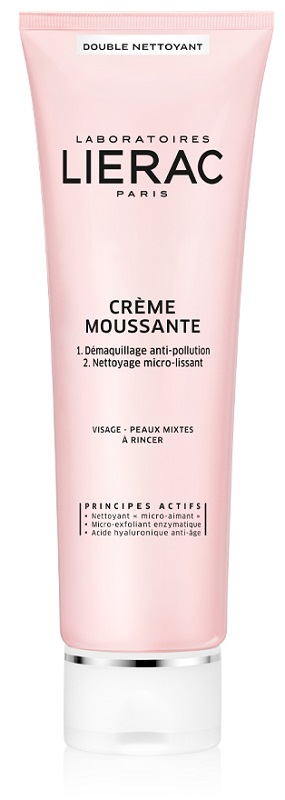 LIERAC DEMAQUILLANT CREMA MOUSSE A DOPPIA AZIONE 150 ML - Farmastar.it