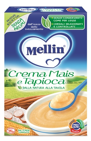 MELLIN CREMA MAIS E TAPIOCA 200 G - Farmapc.it