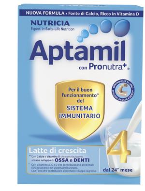 APTAMIL 4 CON PRONUTRA+ LATTE CRESCITA POLVERE 700 G - Farmajoy