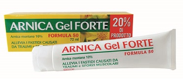 ARNICA 10% GEL FORTE FORMULA 50 72 ML - La farmacia digitale