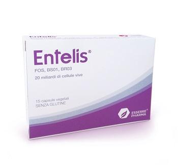 ENTELIS 15 CAPSULE VEGETALI - farmaciadeglispeziali.it