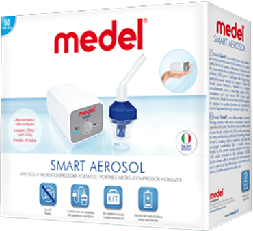 AEROSOL MEDEL SMART A BATTERIA - Farmajoy