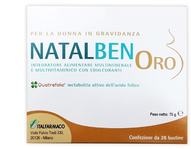 NATALBEN ORO 28 BUSTINE - Farmaconvenienza.it