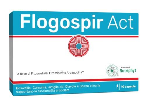 Flogospir Act Integratore 10 Capsule