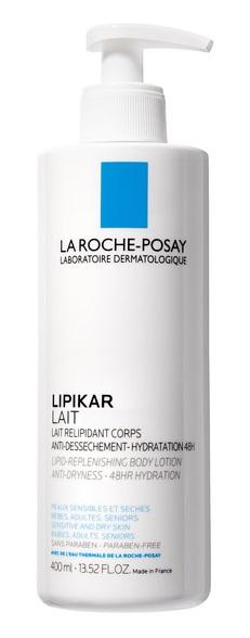 LA ROCHE POSAY LIPIKAR LATTE IDRATANTE PELLE SECCA E ATOPICA 400 ML - Farmastar.it