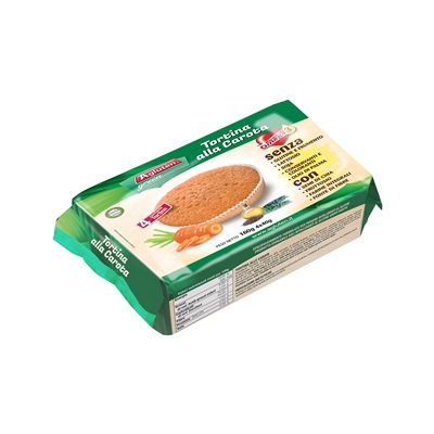 AGLUTEN TORTINA ALLA CAROTA 160 G - Farmafamily.it