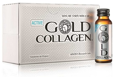 GOLD COLLAGEN ACTIVE 10 FLACONCINI 50 ML - latuafarmaciaonline.it