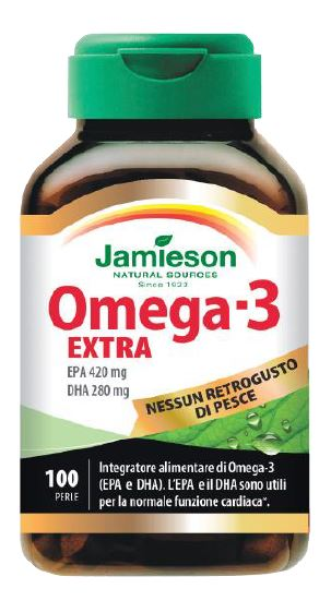 JAMIESON OMEGA 3 EXTRA 100 PERLE - La farmacia digitale