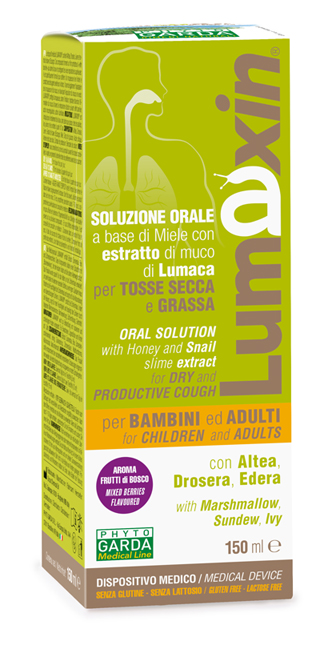 LUMAXIN DISPOSITIVO MEDICO SCIROPPO ADULTI/BAMBINI 150 ML - Spacefarma.it