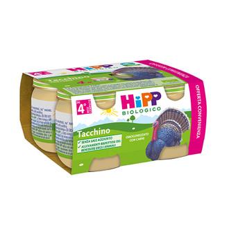 HIPP BIO OMOGENEIZZATO TACCHINO 4X80 G - farmaciafalquigolfoparadiso.it