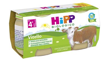 HIPP BIO HIPP BIO OMOGENEIZZATO VITELLO 2X80 G - Farmafamily.it