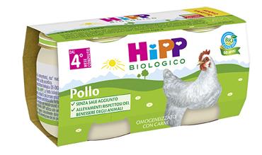 HIPP BIO HIPP BIO OMOGENEIZZATO POLLO 2X80 G - Speedyfarma.it