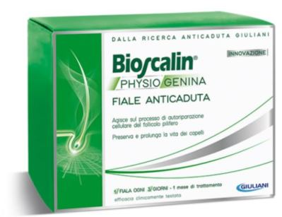 BIOSCALIN PHYSIOGENINA 10 FIALE ANTICADUTA DA 3,5 ML - Farmafamily.it
