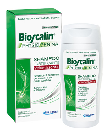 BIOSCALIN PHYSIOGENINA SHAMPOO FORTIFICANTE VOLUMIZZANTE 200 ML - La farmacia digitale