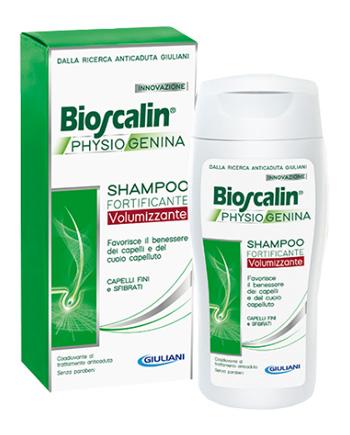 BIOSCALIN PHYSIOGENINA SHAMPOO FORTIFICANTE VOLUMIZZANTE 200 ML - Farmaciacarpediem.it