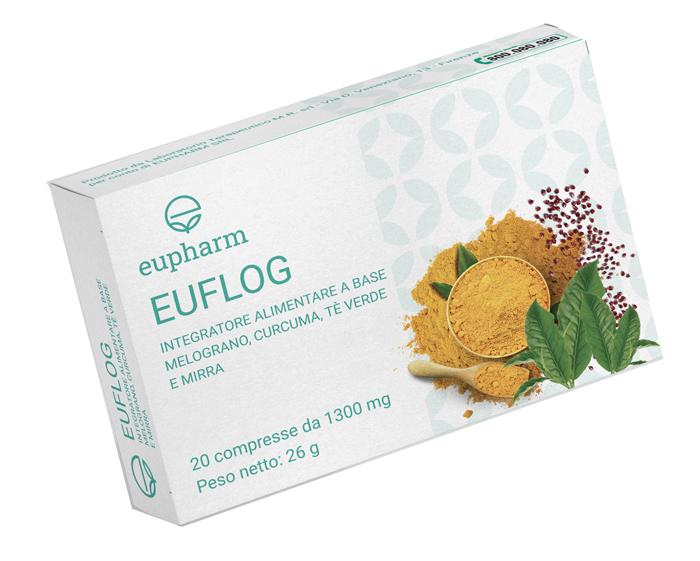 EUFLOG 20 COMPRESSE - Farmapass