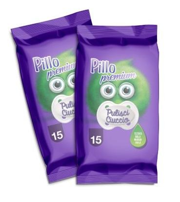 PILLO PREMIUM PULISCI CIUCCIO 15 SALVIETTE - Farmaseller