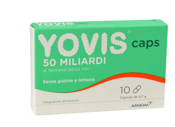 YOVIS CAPS FERMENTI LATTICI 50 MILIARDI INTESTINO 10 CAPSULE - Farmastar.it
