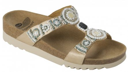 NEW BOGOTA' WEDGE SATIN+BEADS WOMENS CREAM 41 COLLEZIONE SS17 1 PAIO - Farmaci.me