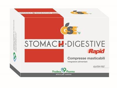 GSE STOMACH DIGESTIVE RAPID 24 COMPRESSE MASTICABILI - Farmacia Centrale Dr. Monteleone Adriano