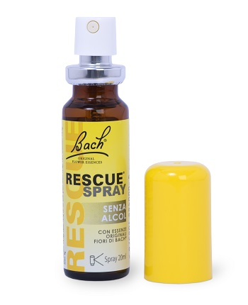 RESCUE SPRAY SENZA ALCOL 20 ML - Farmapage.it