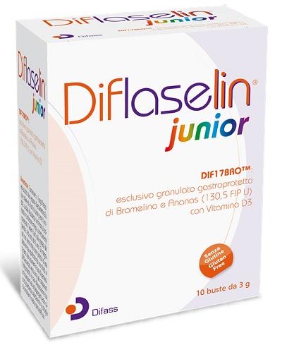 DIFLASELIN JUNIOR 10 BUSTE X 3 G - Farmacia Centrale Dr. Monteleone Adriano