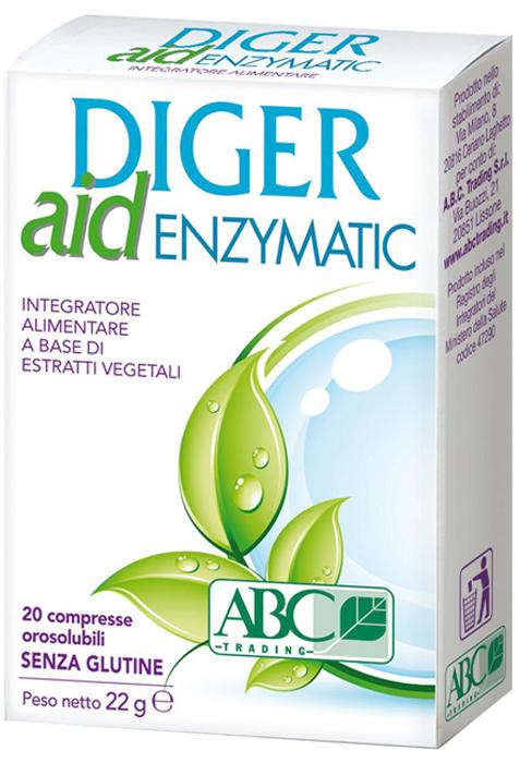 DIGER AID ENZYMATIC 20 COMPRESSE - Farmaseller