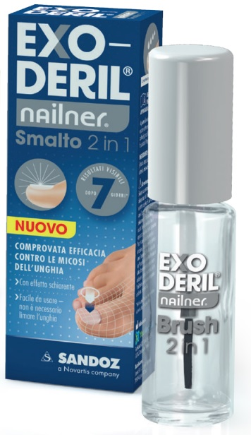 EXODERIL NAILNER TRATTA & COLORA KIT EXODERIL NAILNER SMALTO 2 IN 1 E NAILNER SMALTO PER UNGHIE TRASPIRANTE - Sempredisponibile.it