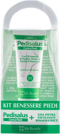 KIT BENESSERE PIEDI PEDISALUS 1 PEDISALUS + 1 PIETRA ESFOLIANTE - Farmacia Centrale Dr. Monteleone Adriano