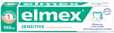 ELMEX DENTIFRICIO SENSITIVE CON FLUORURO AMMINICO 100 ML - farmaciafalquigolfoparadiso.it