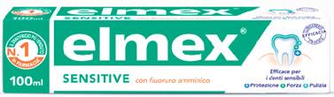 ELMEX DENTIFRICIO SENSITIVE CON FLUORURO AMMINICO 100 ML - Farmaciacarpediem.it