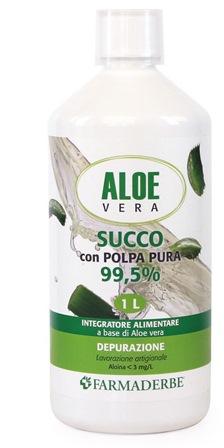 ALOE VERA SUCCO POLPA PURA 1000 ML - Iltuobenessereonline.it