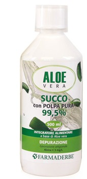 ALOE VERA SUCCO POLPA PURA 500 ML - farmaventura.it
