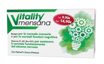 VITALITY MENSANA 12 STICK PACK - Spacefarma.it