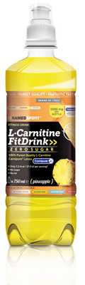 L-CARNITINE FIT DRINK PINEAPPLE 500 ML - Farmacia Bartoli