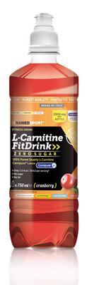 L-CARNITINE FIT DRINK CRANBERRY 500 ML - Parafarmacia la Fattoria della Salute S.n.c. di Delfini Dott.ssa Giulia e Marra Dott.ssa Michela