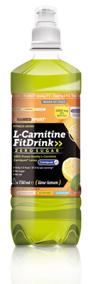 L-CARNITINE FIT DRINK LIME LEMON 500 ML - Farmacistaclick