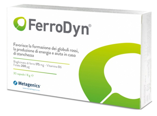 METAGENICS FERRODYN 90 CAPSULE - Zfarmacia