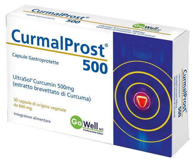 CURMALPROST 500 30 CAPSULE GASTROPROTETTE - latuafarmaciaonline.it